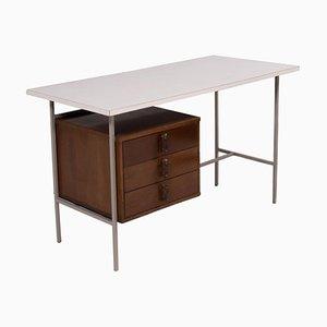 Schreibtisch aus Resopal & Nussholz von Knoll & Drake, 1950er
