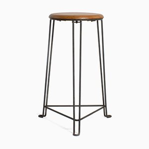 Metal Stool by Jan van der Togt for Tomado