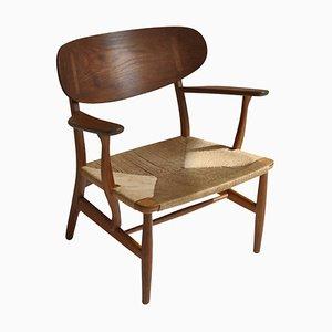 Danish Modern Model Ch22 Chair by Hans J. Wegner for Carl Hansen