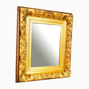 Antiker Spiegel mit Goldrahmen, 1880er