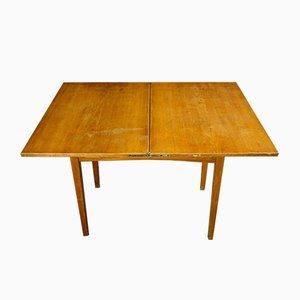 Tavolo pieghevole da scuola Art Déco, anni '30