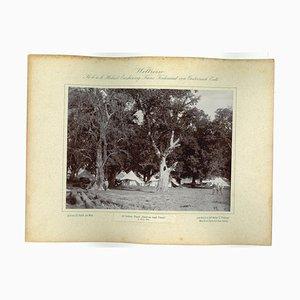 Unknown, Dakh-Na Bagh Camp, Original Vintage Photo, 1893