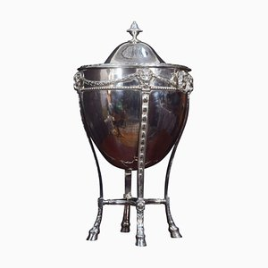 Silver-Plated Lidded Wine Cooler