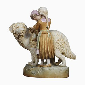 Large Porcelain Figures from Royal Dux