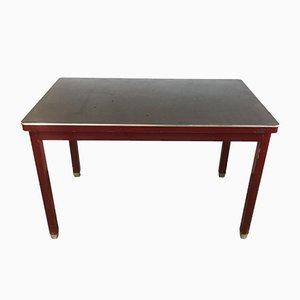 Vintage Schreibtisch aus Stahl