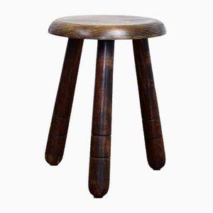 Antique Solid Beech Stool