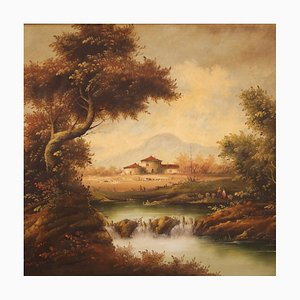 Landscape Painting, 20th-Century