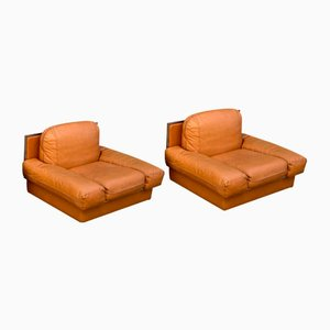 Club Armchairs from Steiner, France, Set of 2