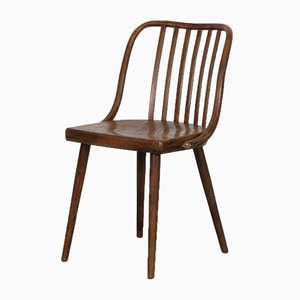 Vintage Wooden Chair by Antonín Šuman, 1960s