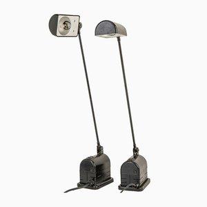 Daphinette Tischlampen von Tommaso Cimini für Lumina, 1980er, 2er Set
