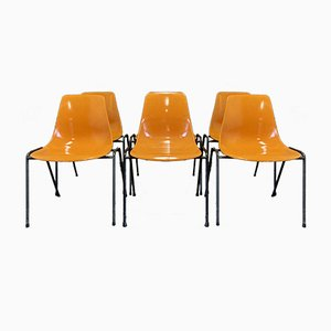 Dining Chairs by Georg Leowald, 1960s, Set of 6