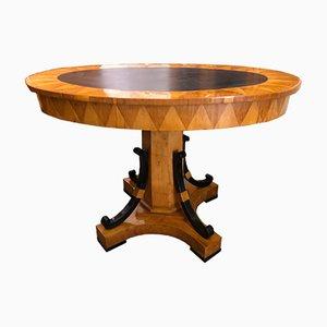 Biedermeier Oval Slate Coffee Table