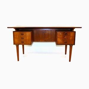 Teak Schreibtisch von Kai Kristiansen, Dänemark, 1960