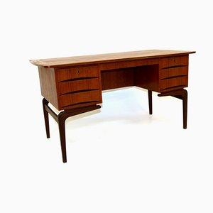 Teak Desk, Denmark, 1960