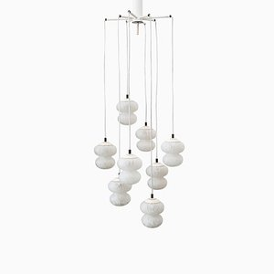 Hanging Lamp with Glass Shades