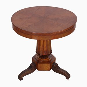 Charles X Round Table in Walnut, Italy, Late 1800s