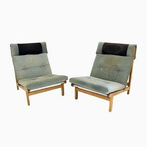 Easy Chairs by Bernt Pedersen, Denmark, 1960, Set of 2