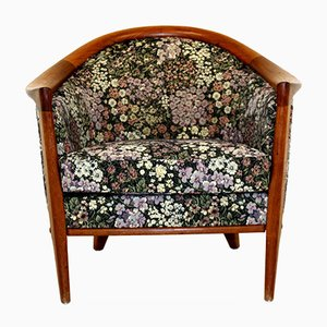 Floral Chair from Bröderna Andersson, Sweden, 1960s