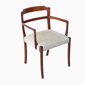Palisander Armlehnstuhl von Ole Wanscher für AJ Iversen, 1960