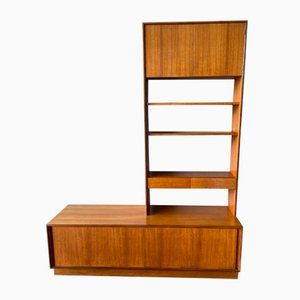 Vintage Teak Form Five Sideboard and Wall Unit with Shelves from G-Plan