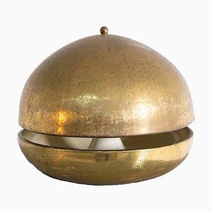 Lampada da tavolo in ottone, Italia, anni '60