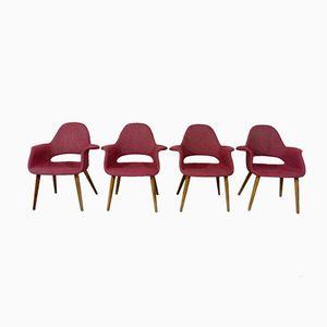 Organische Stühle von Eero Saarinen für Knoll, 1970er, 4er Set