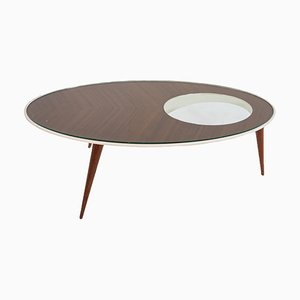 Vintage Italian Coffee Table in the Style of Gio Ponti