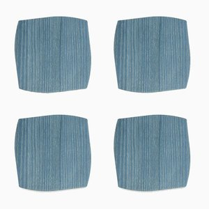 Portofino Coasters by Andrea Gregoris for Lignis, Set of 4