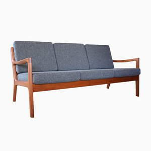 Mid-Century Danish Teak Senator Sofa by Ole Wanscher for Cado, 1960s