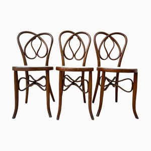 Bentwood Chairs, 19th Century, Set of 6