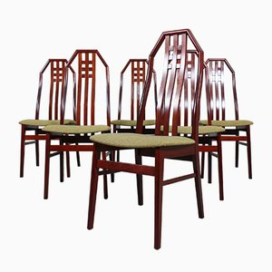 British Rosewood Dining Chairs, 1960s, Set of 6