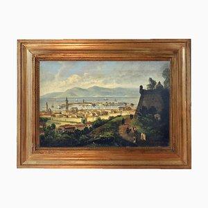 Messina, Scuola Posillipo, olio su tela