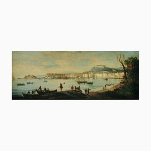 Napoli, Posillipo School, Oil on Canvas