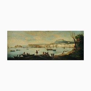 Napoli, Scuola Posillipo, olio su tela