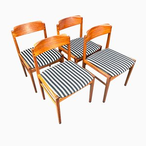Sedie da pranzo Mid-Century, Danimarca, anni '60, set di 4