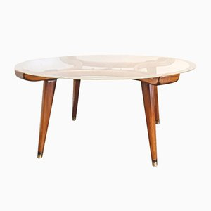Art Deco Style Acrilan Coffee Table by William Watting for Fristho Franeker, 1950s
