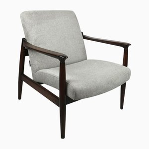 Vintage Gray Armchair by Edmund Homa, 1970s