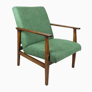Vintage Green Lounge Chair, 1970s