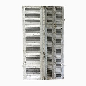 Fir Corner Shutters, Late 19th Century