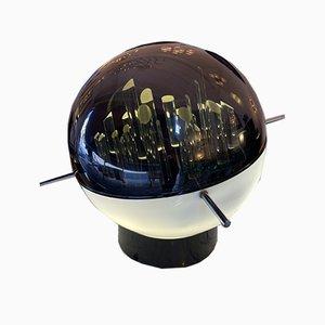 Italian Space Age Lucite Sculptural Lamp by Gaetano Missaglia, 1970s