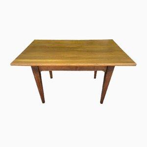 Table Rustique en Chêne Massif avec 2 Tiroirs