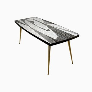 Mid-Century Modern Sculptural Mosaic Coffee Table by Berthold Muller
