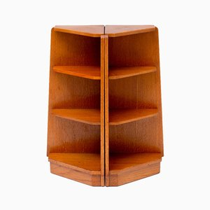 Scandinavian Teak Bookshelf, Set of 2