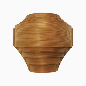 Danish Wooden Wall Lamp, 1960s
