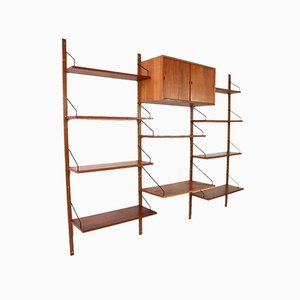 Royal Wall Unit by Poul Cadovius for Cado Denmark