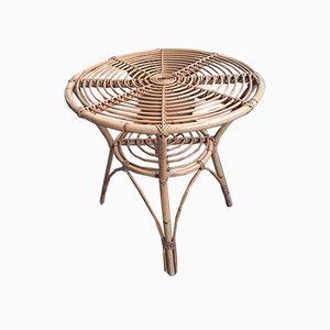 Mid-Century Italian Bamboo Table