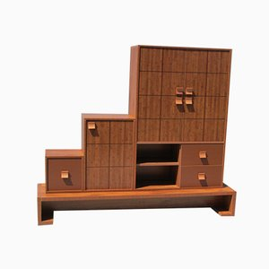 Modernist Scandinavian Style Staircase Cabinet