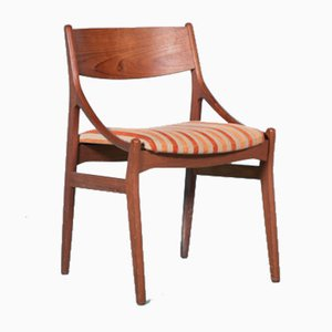 Dänischer Mid-Century Stuhl von Vestervig Eriksen für Tromborg, Denmark, 1960er