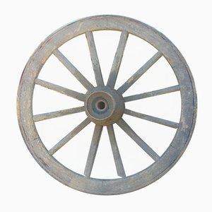 Pre-War Wooden Garden Wheel