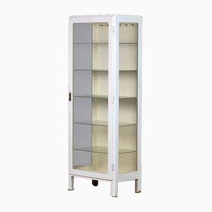 Wooden Medical Cabinet, 1940s